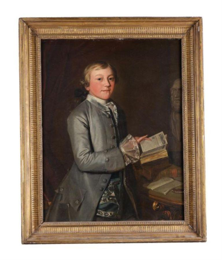English 18th Century Portrait of Giles Moore For Sale 4