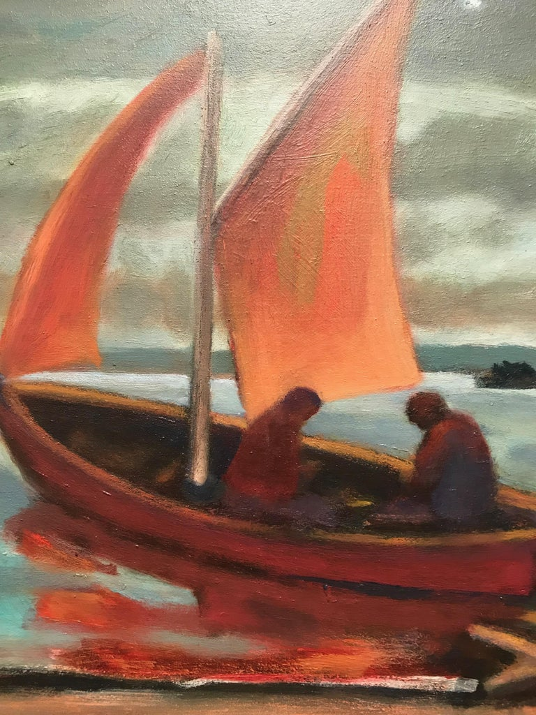 Thomas Wood is an established Pacific Northwest painter and award-winning printmaker who has exhibited nationally and internationally. Wood's paintings often center on the sublime aspects of the wilderness, which he renders with a moody, lush, and