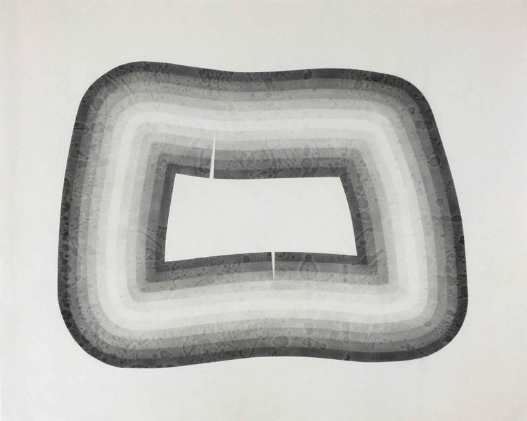 Lexygius Sanchez Calip Abstract Drawing - Tension No. 10 (framed)
