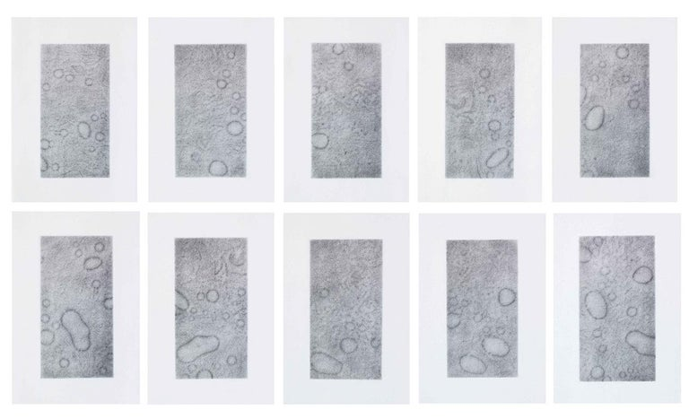 Lexygius Sanchez Calip Abstract Drawing - Spirit Rub B (framed)