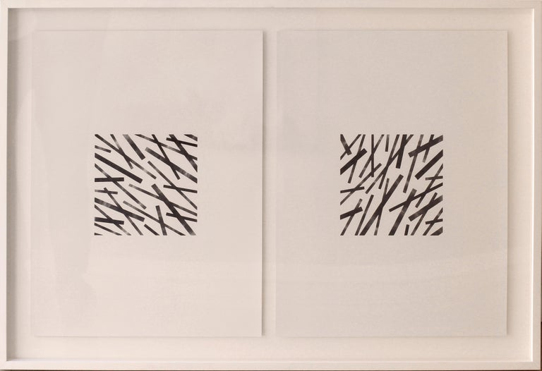 Lexygius Sanchez Calip Abstract Drawing - Central 9-10