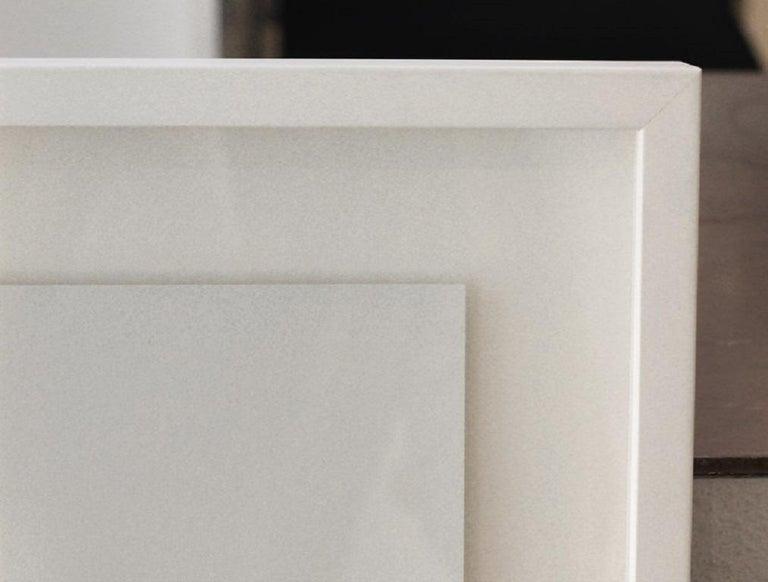 Widgets 11-15 (framed) - Minimalist Art by Lexygius Sanchez Calip