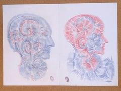 Color pencil drawings by Vova Zayichenko