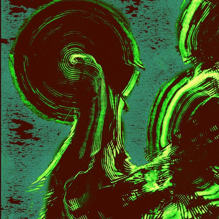 Serpentine London - Abstract Print, Mixed Media, Digital by Volodymyr Zayichenko For Sale 4