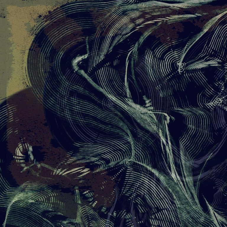 Serpentine London - Abstract Print, Mixed Media, Digital by Volodymyr Zayichenko For Sale 1
