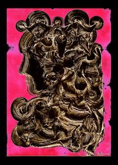Portrait - Serpentine London - Abstract Print, Mixed Media, Digital art, pop art