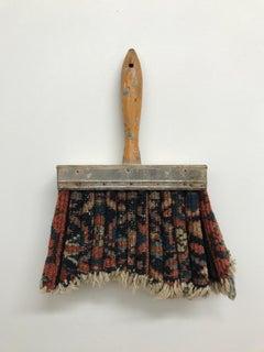 """""""Rug Brush"""", Contemporary, Mixed Media, Found Materials, Repurposed Materials"""