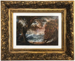18. Jahrhundert und früher Landschaftszeichnungen Aquarellmalerei