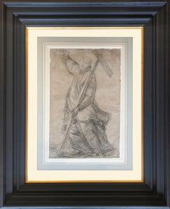 Saint Bernard of Clairvaux holding the Cross - Giovanni Biliverti (1585-1644)