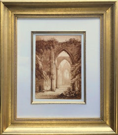 Circle of Joseph M W Turner (1723-1851) Tintern Abbey Monmouthshire Wales