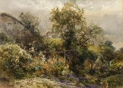 The Cottage Garden Derby - James Stephen Gresley (English 1829-1908) - Victorian