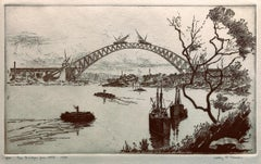 The Bridge From Atop - Molly O'Shea (1890-1970) - Sydney Harbour Bridge