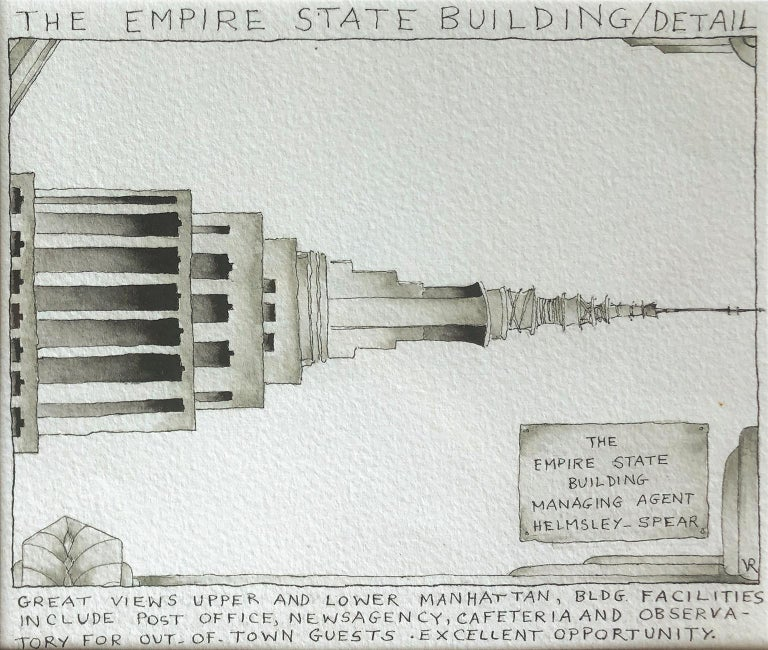 The Empire State Building Detail - Hope Springs Eternal - Back from the Holidays For Sale 3