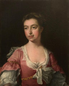 Portrait of a lady - Circle of Sir Godfrey Kneller