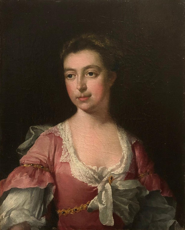 (Circle of) Sir Godfrey Kneller (Lubeck 1646 - 1723 London), Portrait of a Lady  Sir Godfrey Kneller, 1st Baronet (Born Gottried Kniller, 8 August 1646 Died 19 October 1723) was the leading portrait painter in England during the late 17th and early