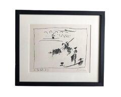 Picasso Lithograph, 'La Pique', 1961