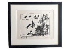 Picasso Lithograph,  Jeu de la Cape 1961