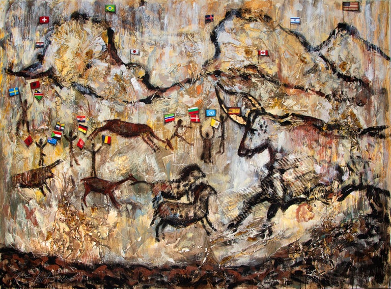 Ralitza Stoiceva Figurative Painting - Timelessness