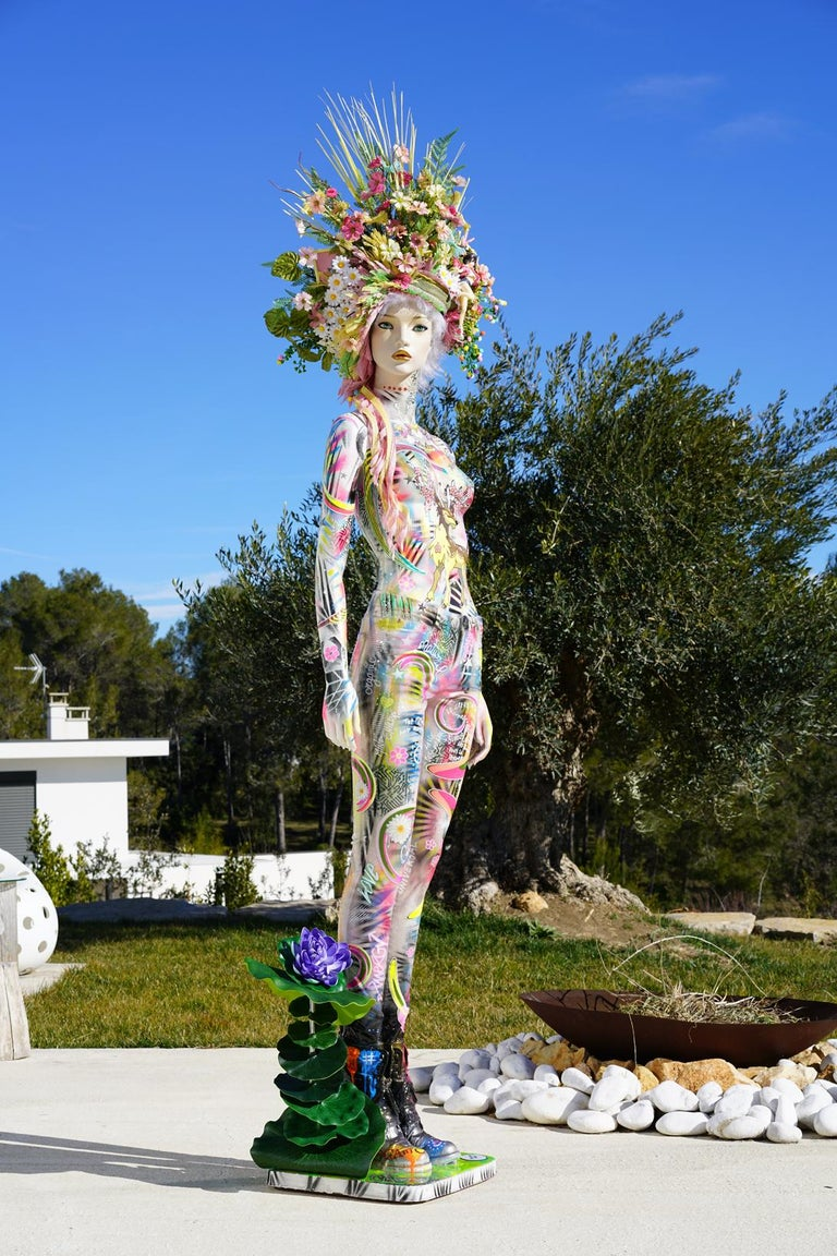 Spring - Sculpture by David Cintract