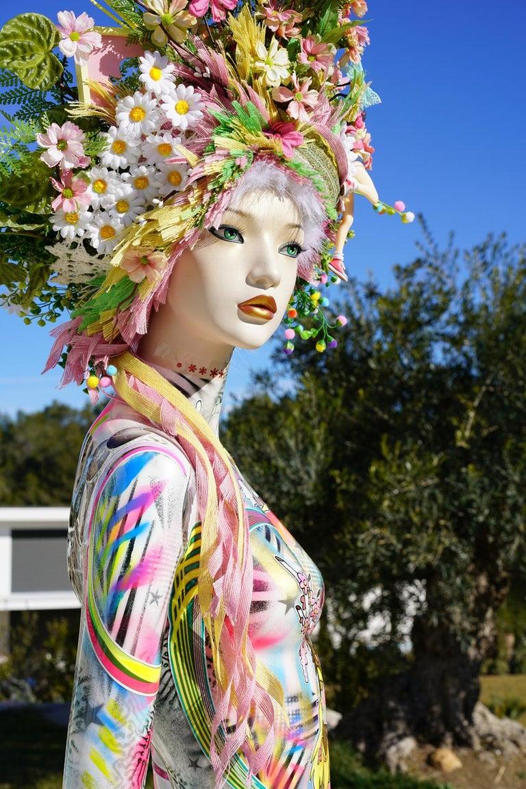 David Cintract Figurative Sculpture - Spring