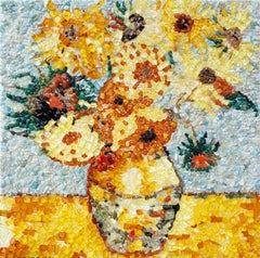 Crystal Sunflowers - In memory of Vincent Van Gogh