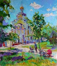 Quiet Hours - Landscape Oil Painting