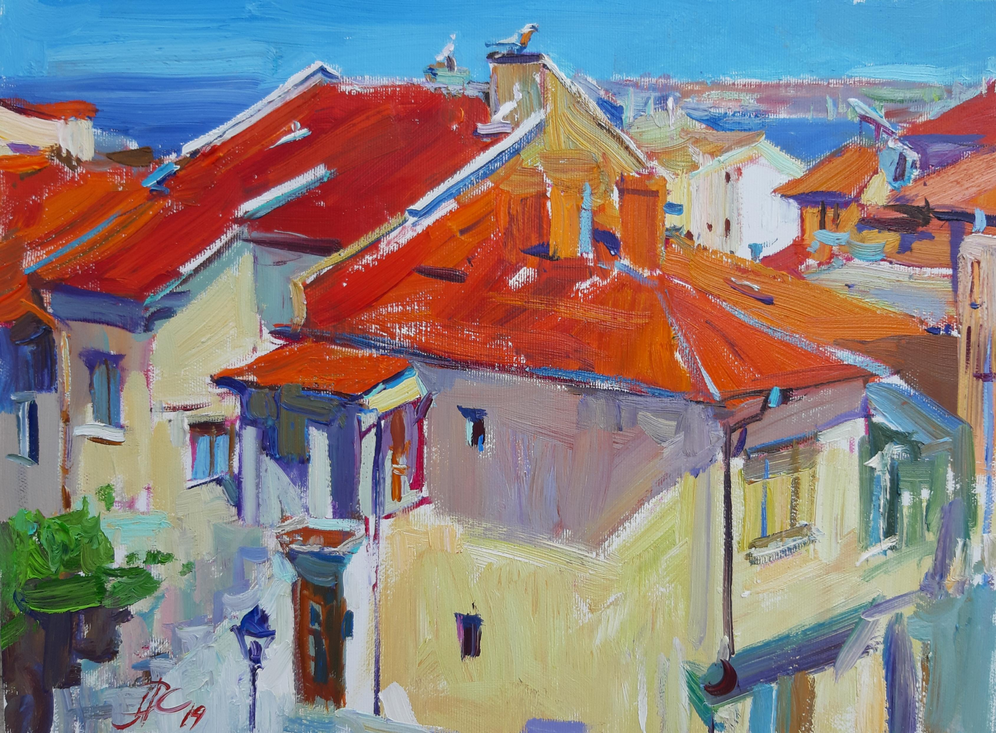 Sozopol's Roofs
