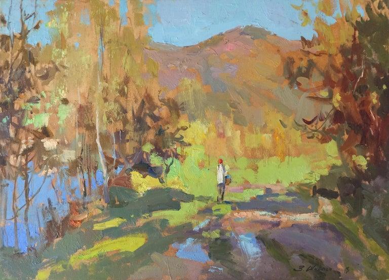 Zlata Shyshman Landscape Painting - Carpathian Morning