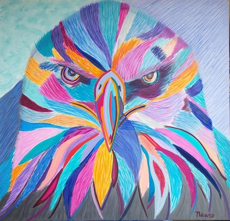 Pancho Malezanov Landscape Painting - Eagle