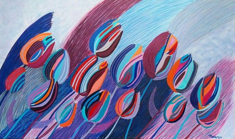 Pancho Malezanov Still-Life Painting - Tulips