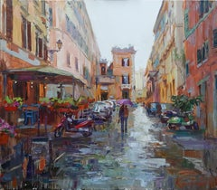 A Raining Day In Italy