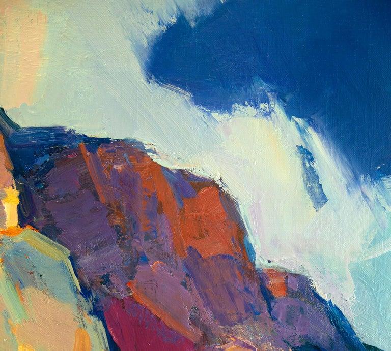 Crimea Mountain - Impressionist Painting by Aleksandr Kryushyn