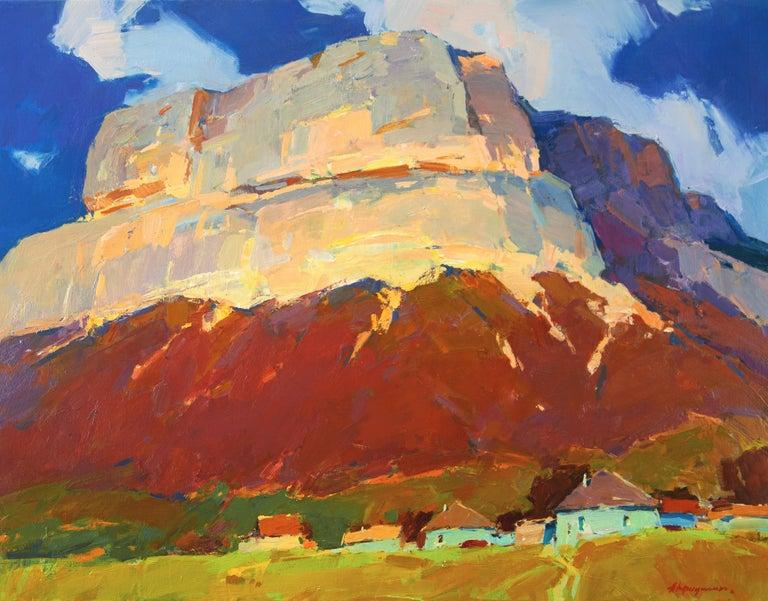 Aleksandr Kryushyn Landscape Painting - Crimea Mountain