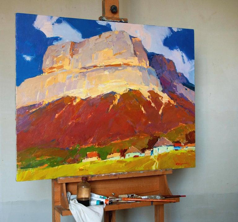 Crimea Mountain - Painting by Aleksandr Kryushyn