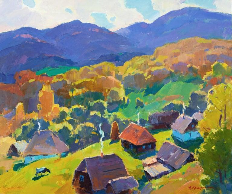 Aleksandr Kryushyn Landscape Painting - September's Sun