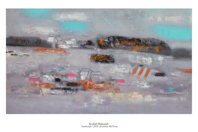 Oleksandr Serdiuk Landscape Painting - Landscape