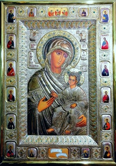 Icon of the Iveron Mother of God