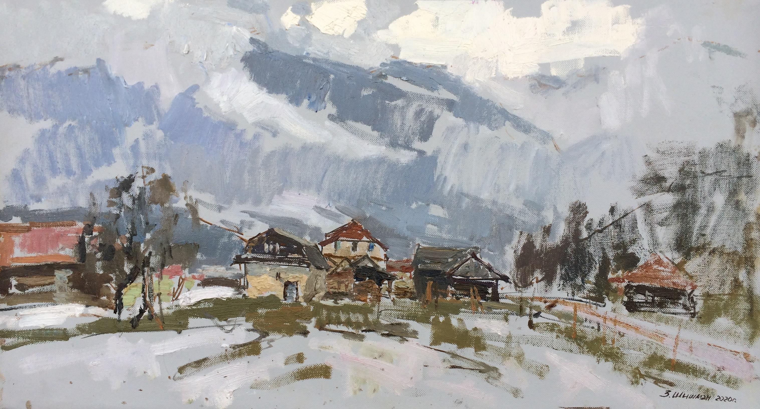 Rain In A Mountain Village