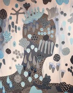 Washy Decorator 2 - Chloe York - Contemporary Abstract Acrylic Painting