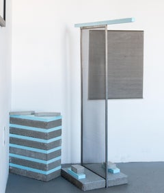 Mirror - Brian Jobe - Contemporary - Geometric Abstract Sculpture with Concrete