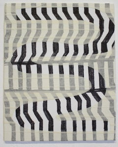 Tape Drawing and Pattern - Ashley Layendecker - Contemporary - Geometry