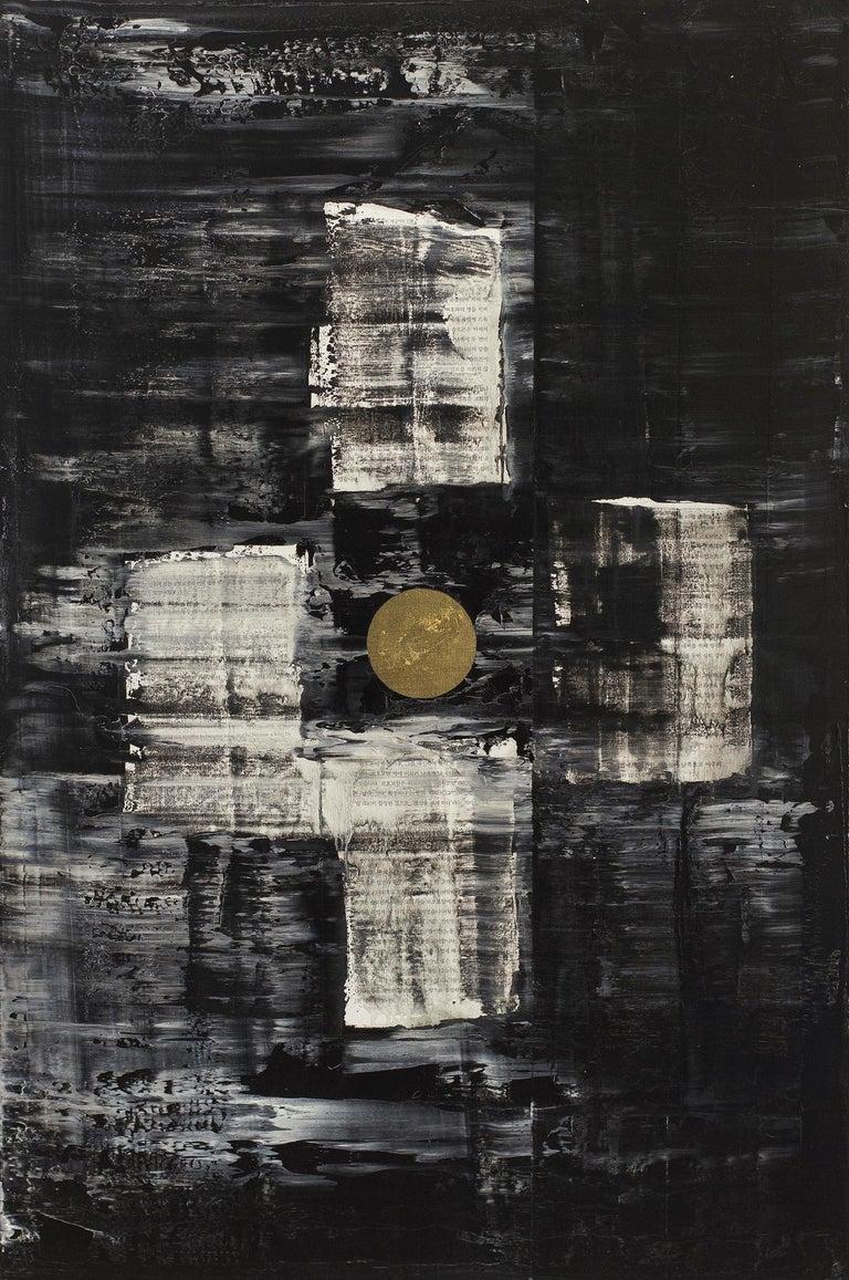 Yuri Figueroa Abstract Painting - GC Ms 5 babel