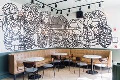 VanDyke - Dustin Hedrick - Tape Installation/Mural - Portraits of Musicians