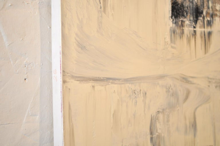 GC 26 - Yuri Figueroa - Oil and Gold Leaf on Canvas - Abstract Painting  For Sale 3