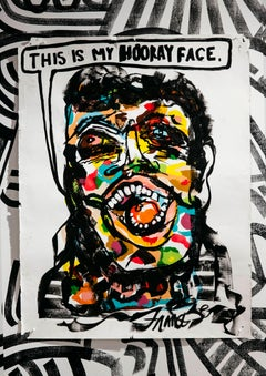 This is my Hooray Face - Frances Berry - Contemporary - Drawing