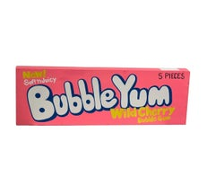 Bubble Yum - Wild Cherry, Bodega Series - Pink, White, Blue Acrylic, Wood. 2020