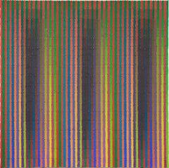 Polarity Veil - Colorful Painting, Interpretation of Sheet Music, Grid Shadow