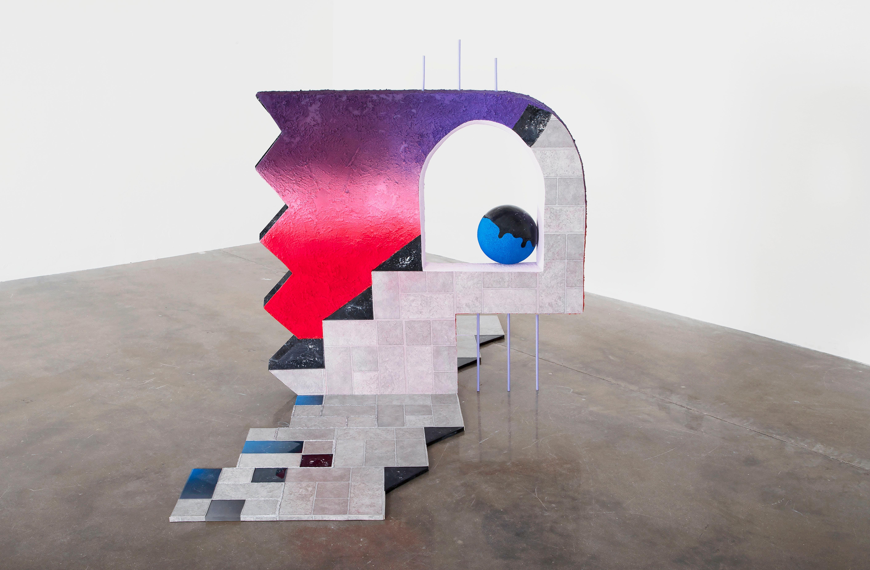 Castle Fabricks - Surrealist Cubist Installation Sculpture, Mystical Dreamscape