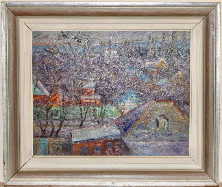 Oil painting, Russian - soviet artist, Samochwalow (Samokhvalov) For Sale 1