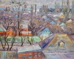 Oil painting, Russian - soviet artist, Samochwalow (Samokhvalov)